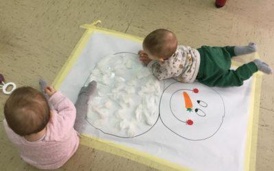 Protegido: Algodón en clase de los bebés de Irene